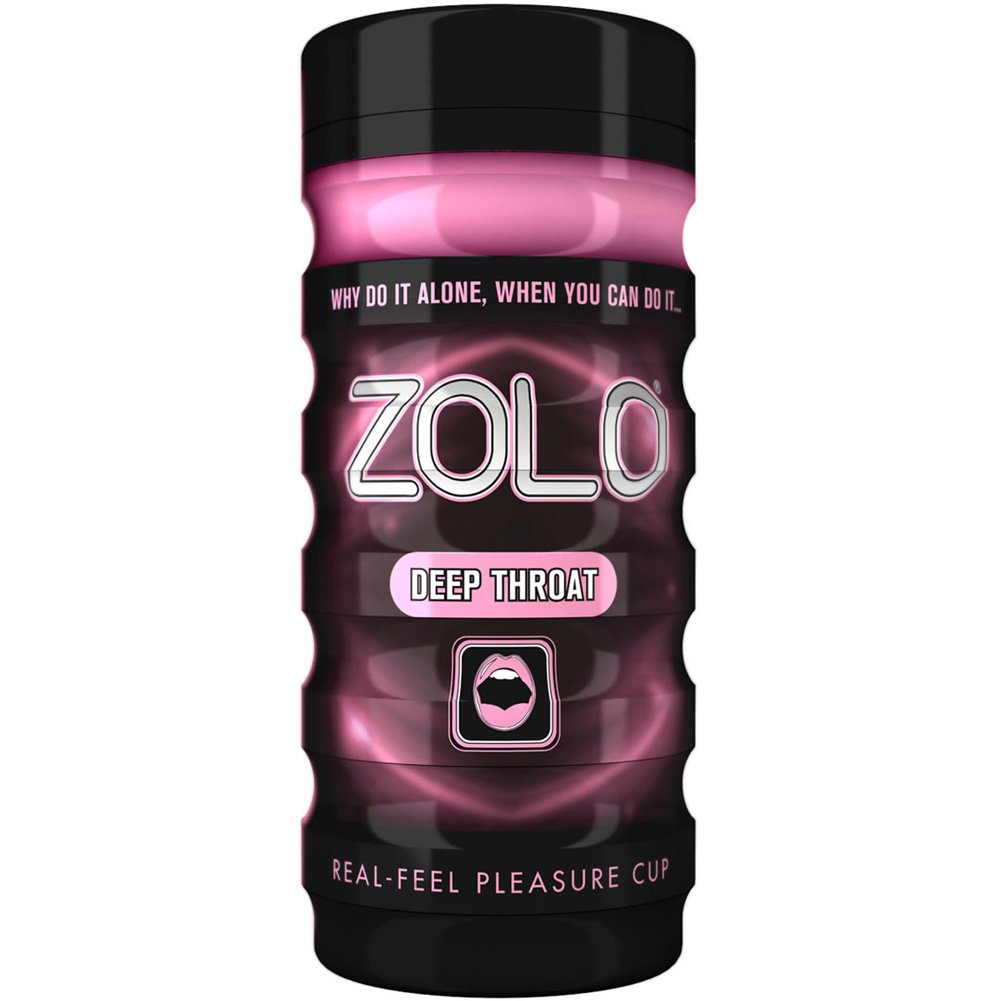 Zolo Deep Throat Premium Real-Feel Pleasure Cup Masturbator for Men - View #2