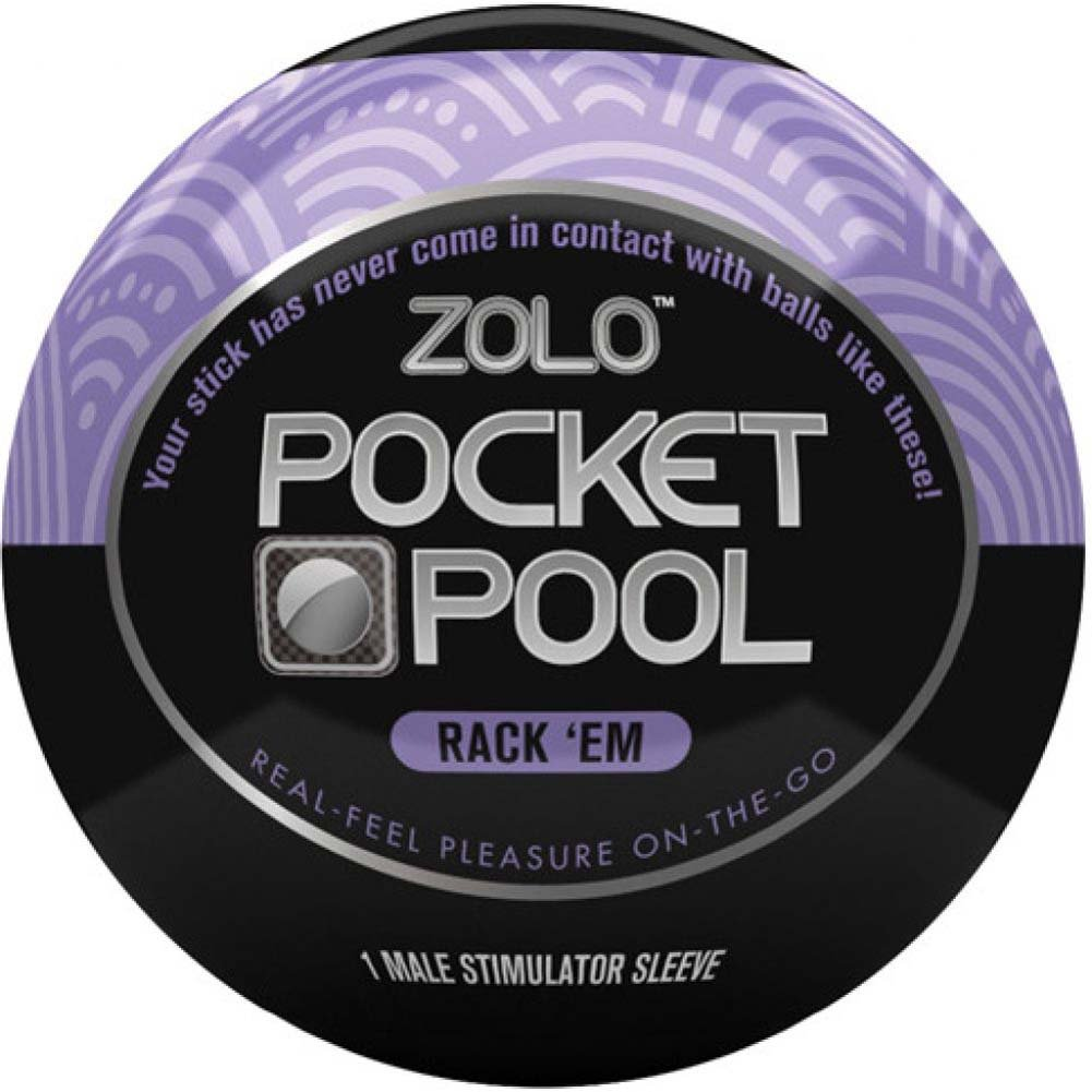 Zolo Pocket Pool Straight Shooter Stroker - View #2