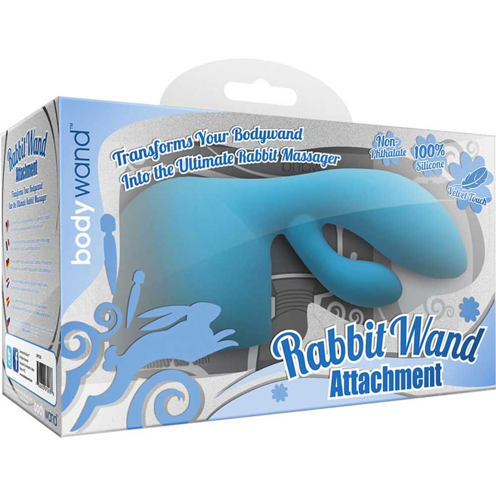 Bodywand Xgen Body Wand Rabbit Attachment Blue - View #1