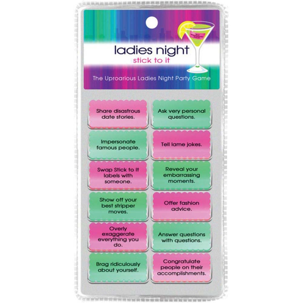 Kheper Games Ladies Night Stick to It Dare Game - View #2