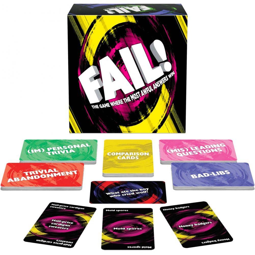 Fail Party Card Game - View #1