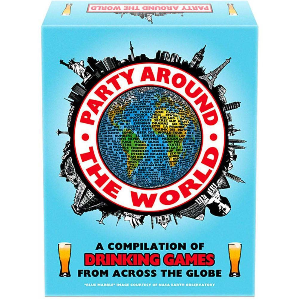 Party Around the World Drinking Board Game - View #2