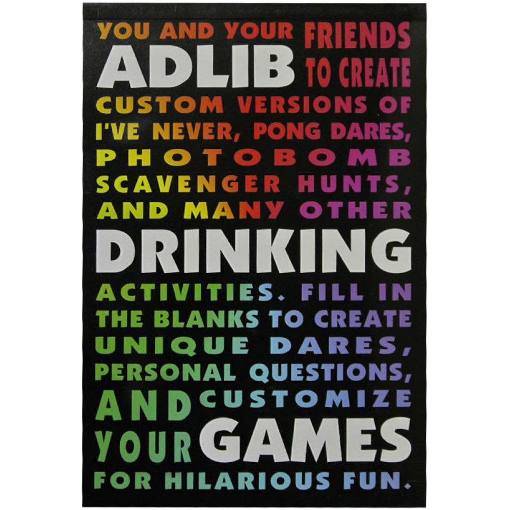 Adlib Drinking Games - View #1