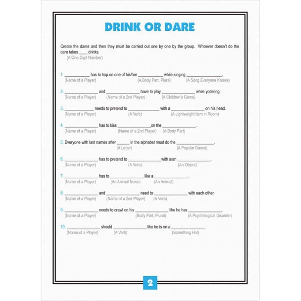 Adlib Drinking Games - View #3