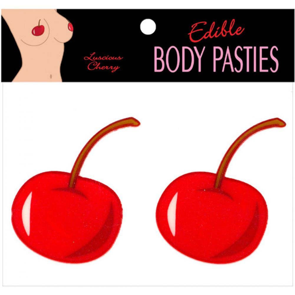 Edible Body Pasties Luscious Cherry - View #2