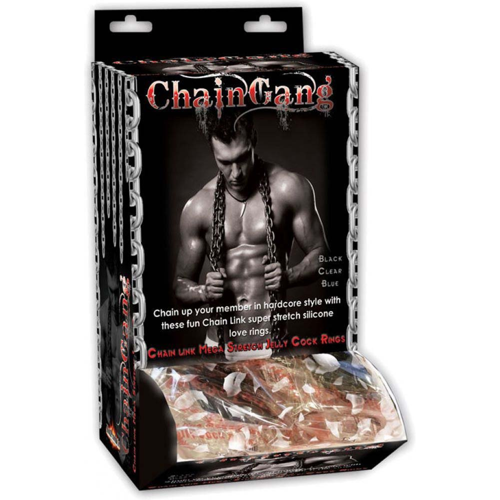 Chain Gang Cockrings Assorted 36 Piece Display - View #2