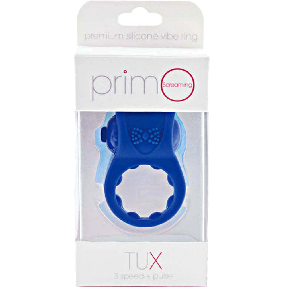 Screaming O Primo Tux Love Ring One Size Blue - View #1