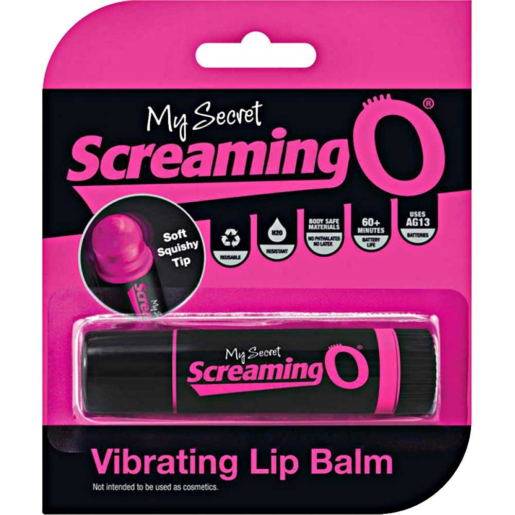 My Secret Screaming O Vibrating Lip Balm Pink - View #4