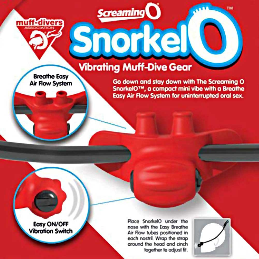 Snorkel O Vibrating Muff Dive Gear - View #1