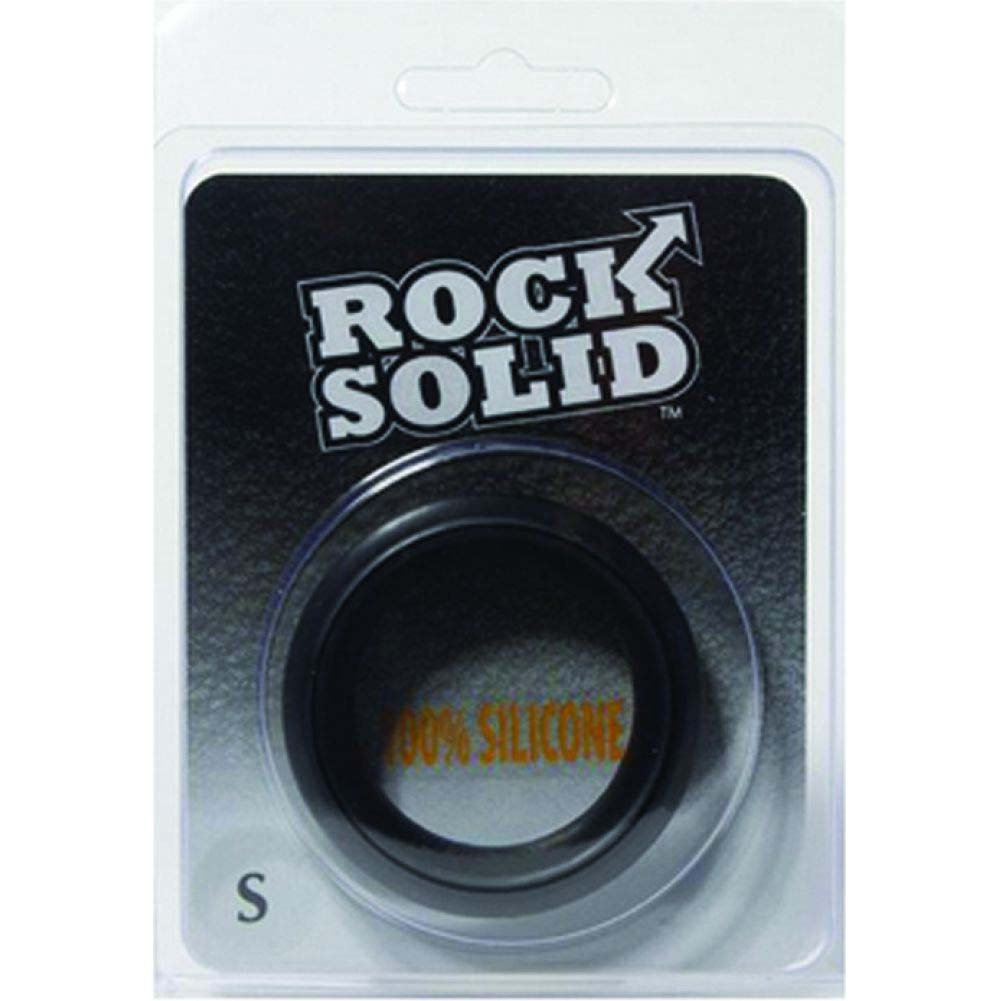Rock Solid Silicone Black C-Ring Small - View #1