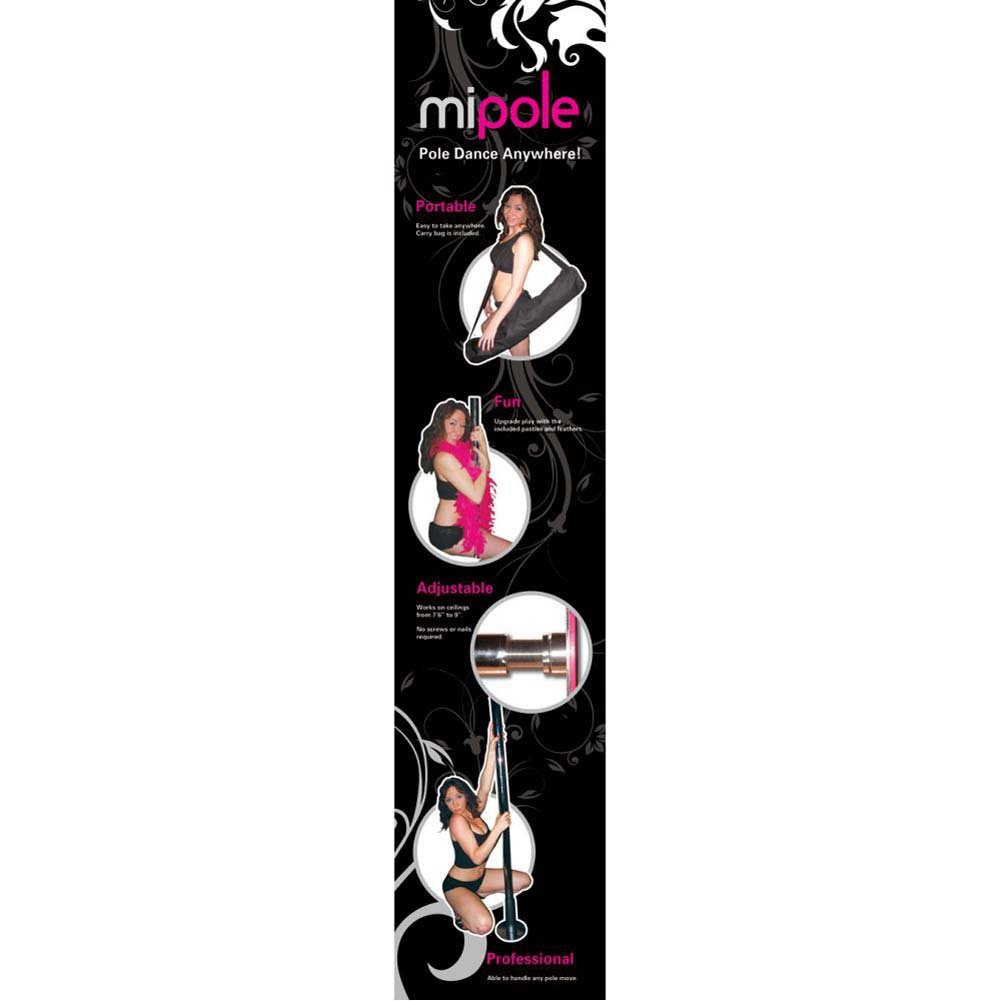 Mi-Pole Professional Dance Pole 9 Ft Pads - View #4