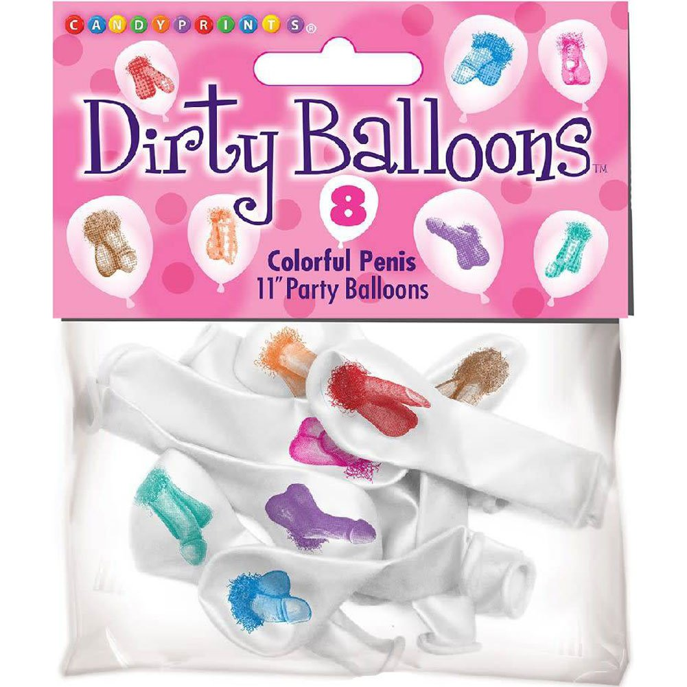 Mini-Penis Balloons 8 Piece Pack - View #1