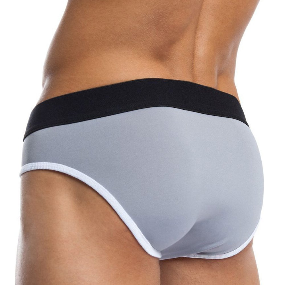 Jack Adams Flex Fit Army Brief Grey White Extra Large - View #2
