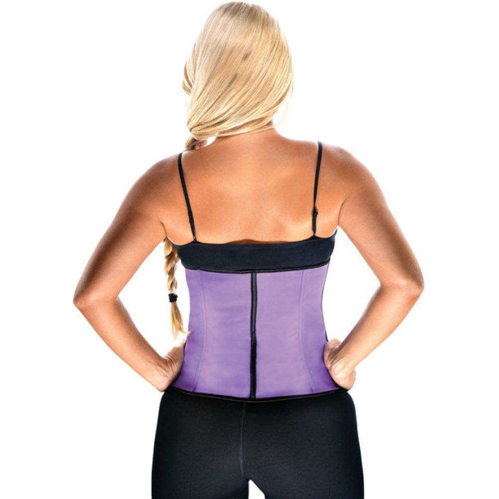 Gym Work Out Waist Trainers Purple 2X - View #2