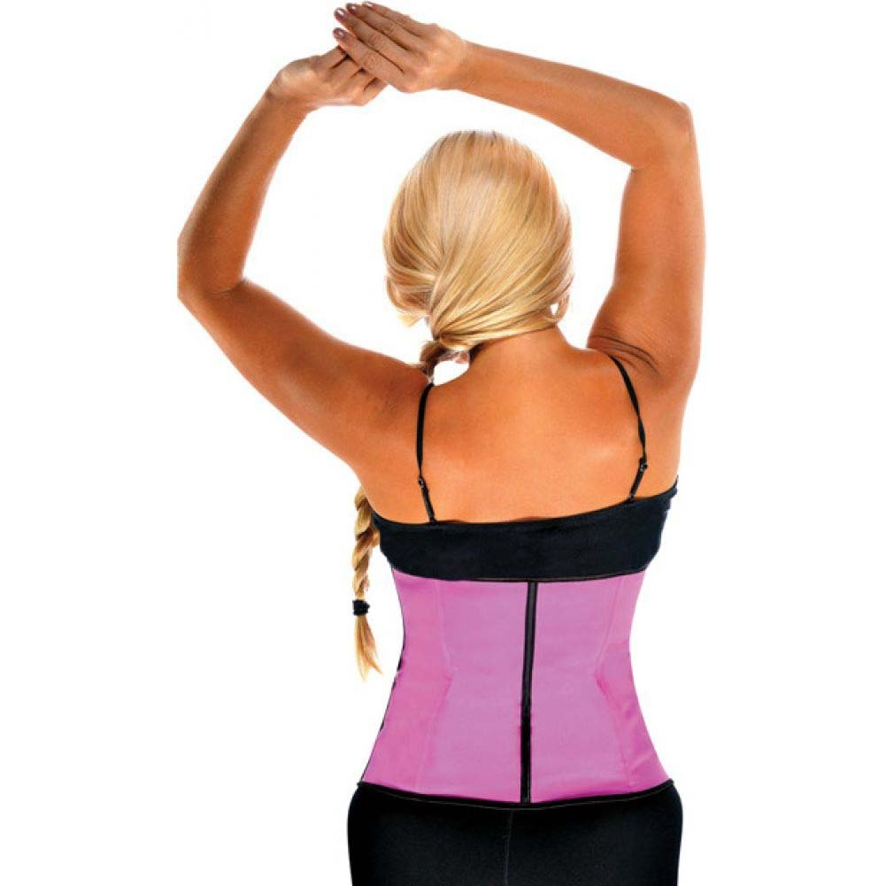 Gym Work Out Waist Trainers Hot Pink 3X - View #2
