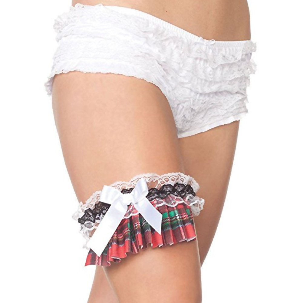 School Girl Leg Garter - View #1