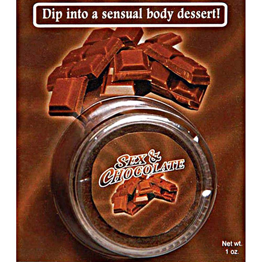 Sex and Chocolate Body Dessert 1 Oz - View #2