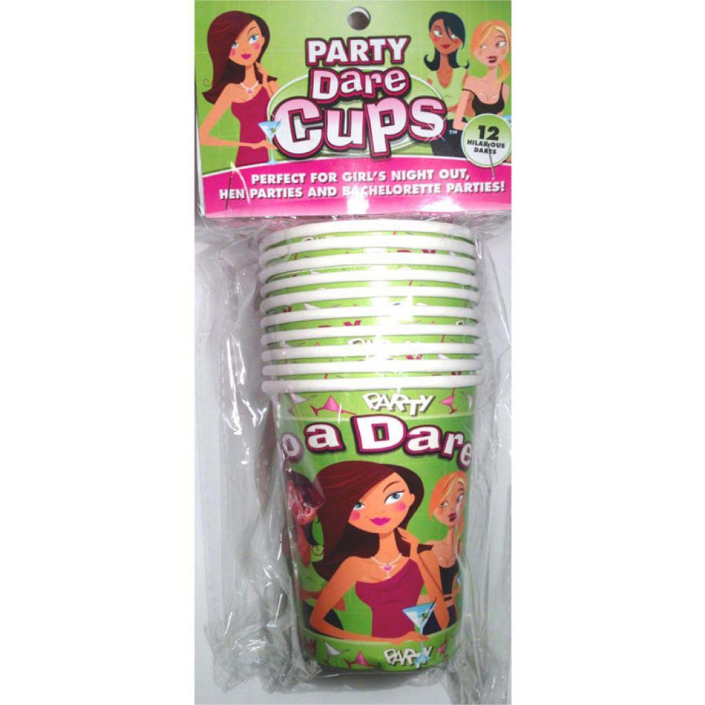 LetS Party Dare Cups 9 Oz 10 Piece Pack - View #1