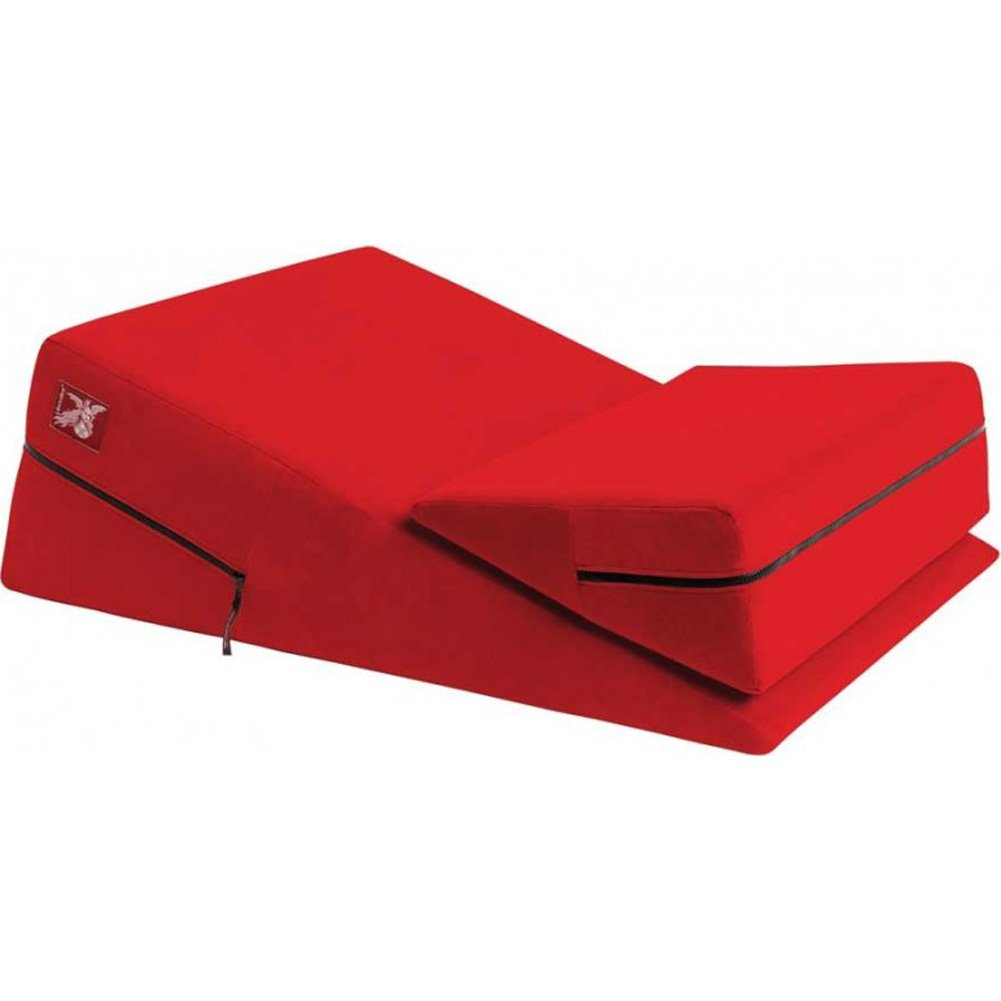 "Liberator 24"" Wedge and Ramp Combo Red Microfiber - View #2"