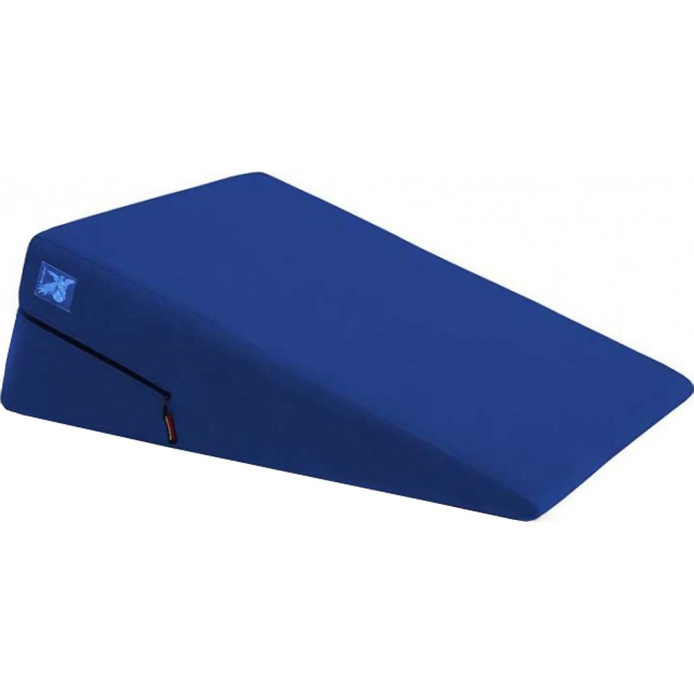 "Liberator High Grade Washable Microfiber Sex Positioning Ramp 12"" Royal Blue - View #2"