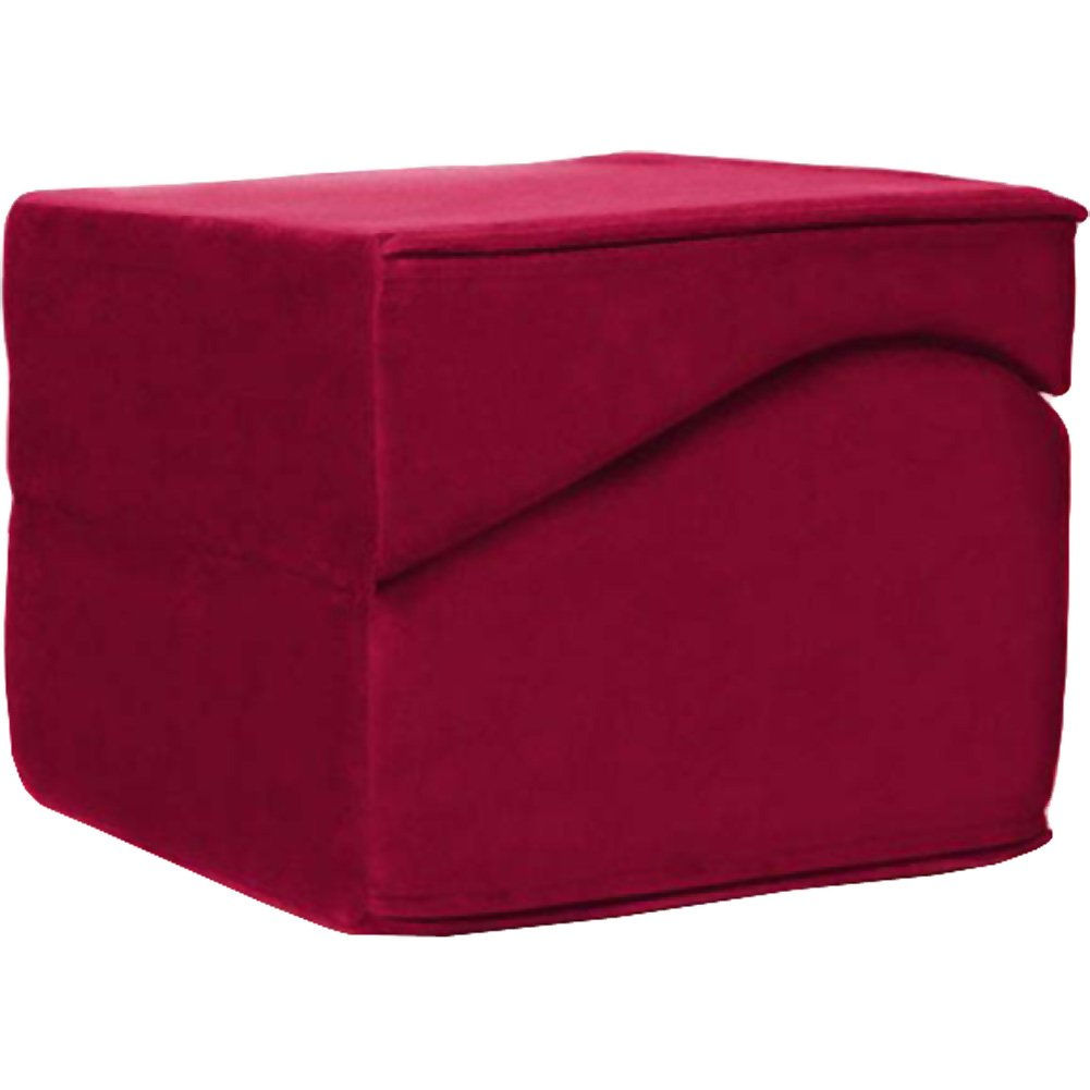 Liberator High-Grade Foam Flip Ramp with Machine Washable Cover Merlot - View #3