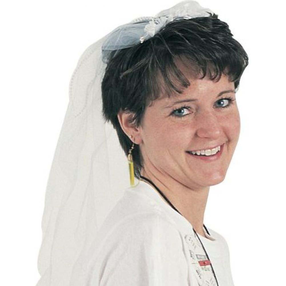 Bachelorette Wedding Veil - View #2