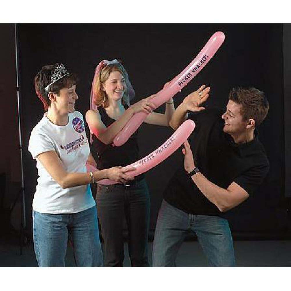 BacheloretteS Last Night Out Pecker Whacker Ballons 5 Piece Pack - View #3