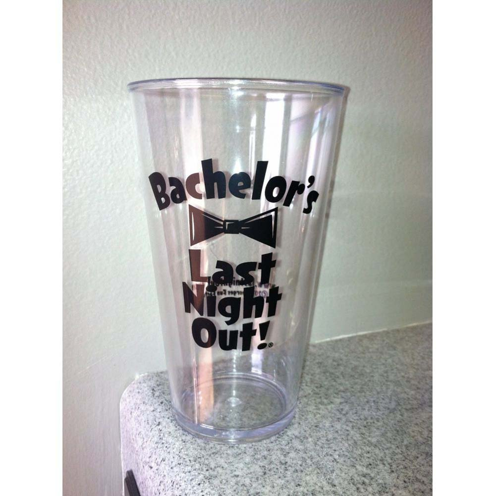 BachelorS Last Night Out Beer Pint Acrylic 16 Oz - View #2