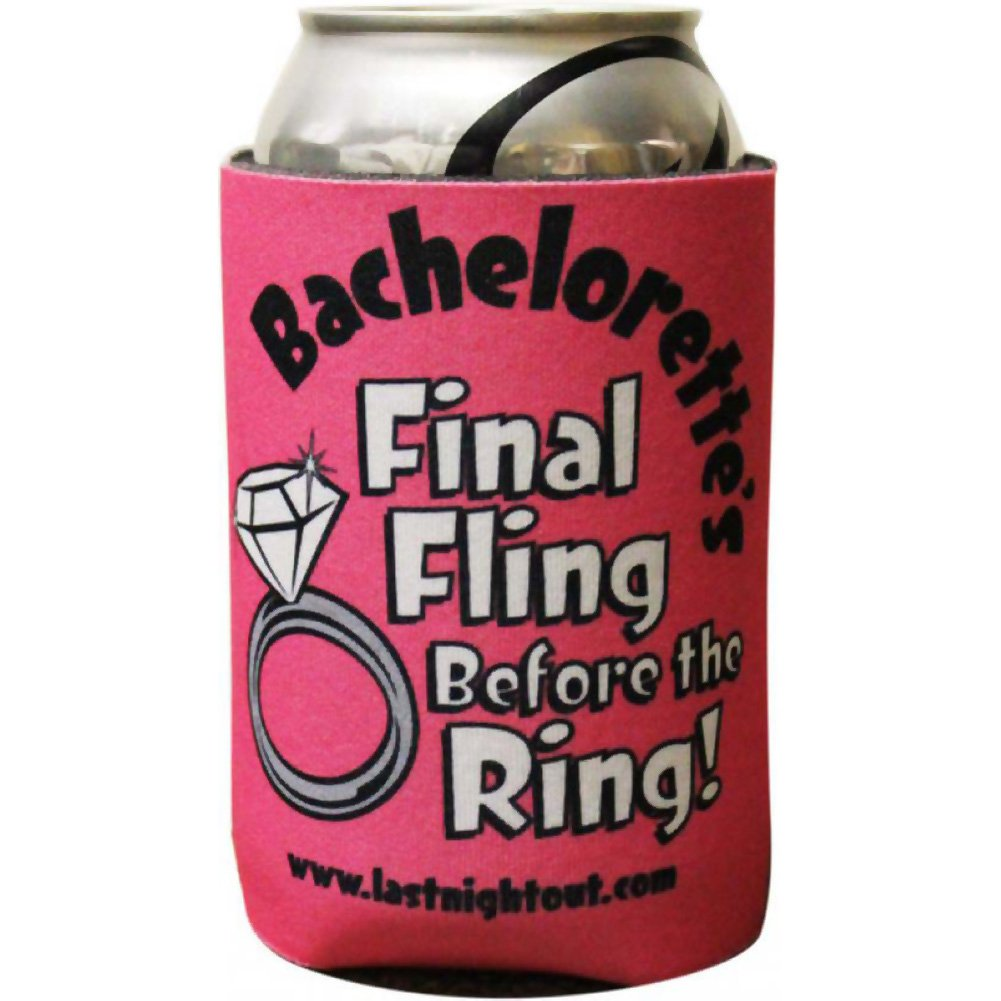 Final Fling Before the Ring Koozie - View #2