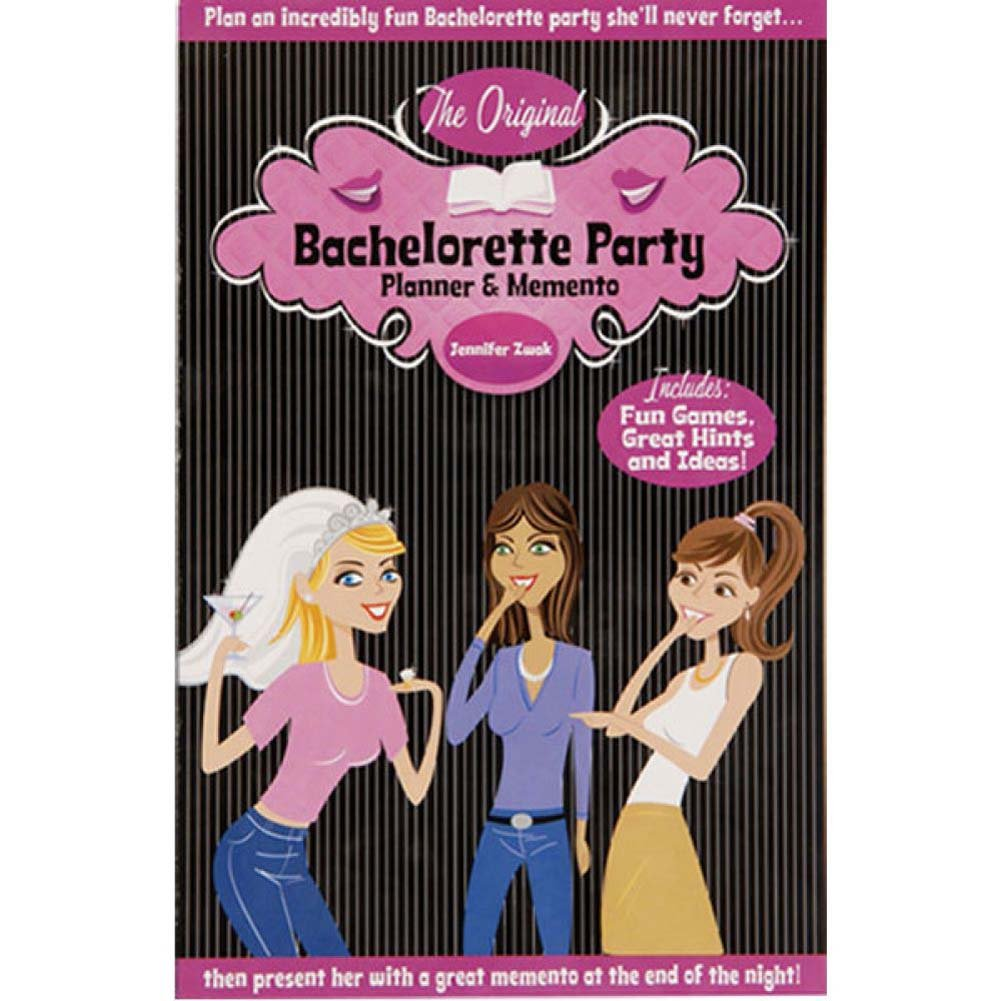 The Original Bachelorette Party Planner and Memento Book - View #1