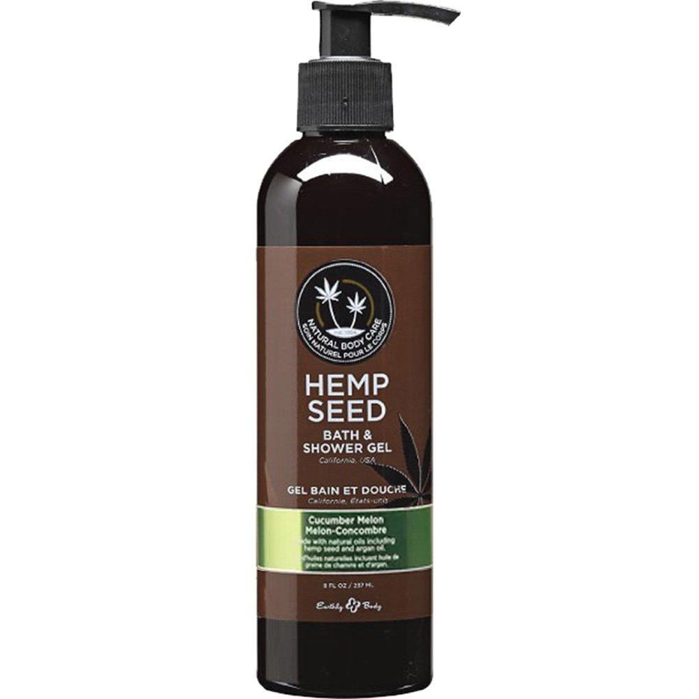 Hemp Seed Bath and Shower Gel 8 Fl.Oz 237 mL Cucumber Melon - View #1