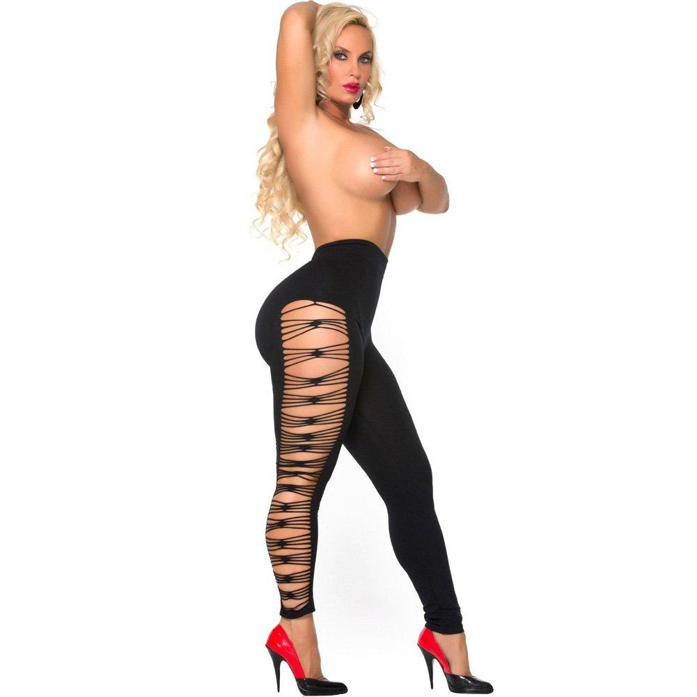 Cocolicious Luxx Legs Seamless Leggings Black One Size - View #3