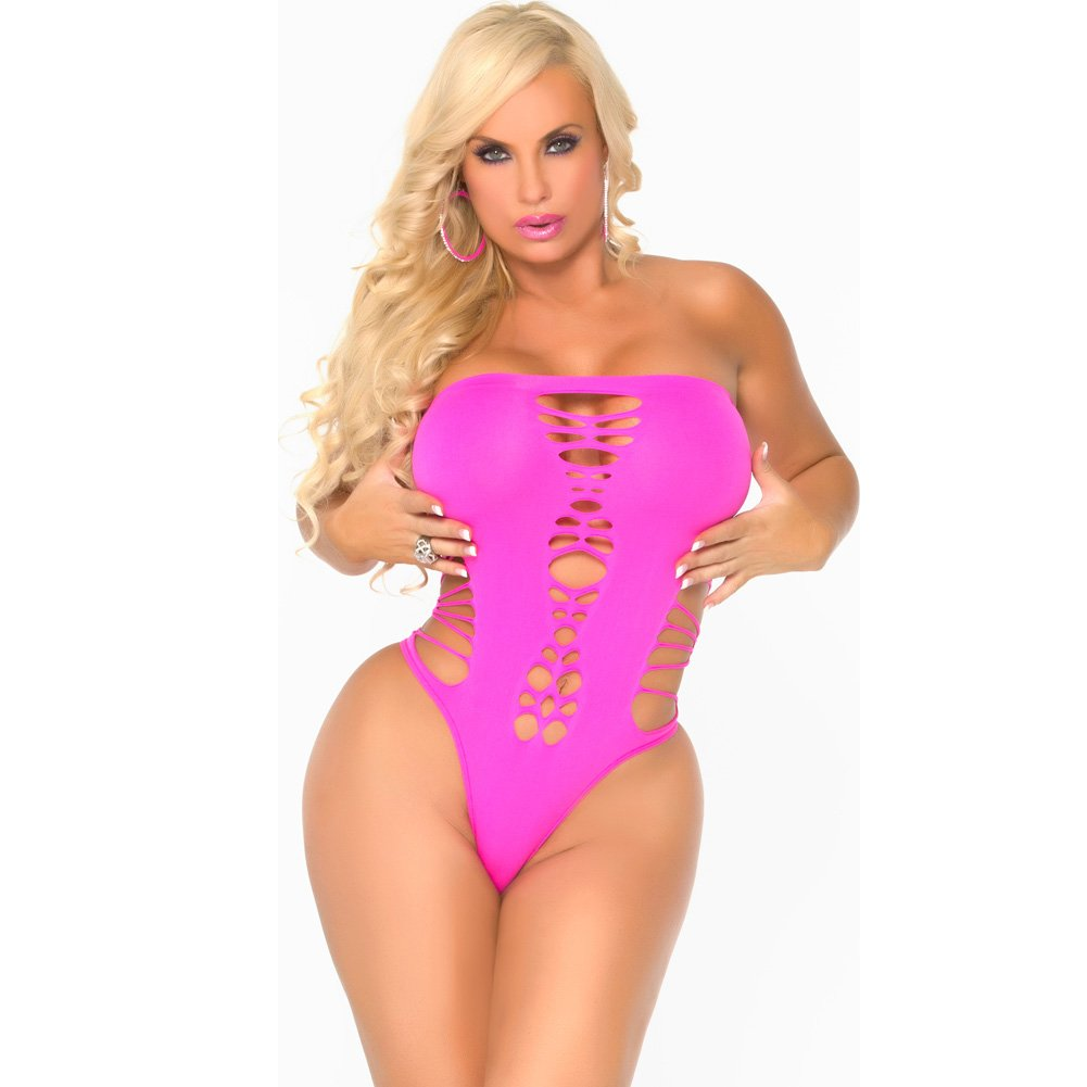 Cocolicious Maja Flava Bodysuit Hot Pink One Size - View #1