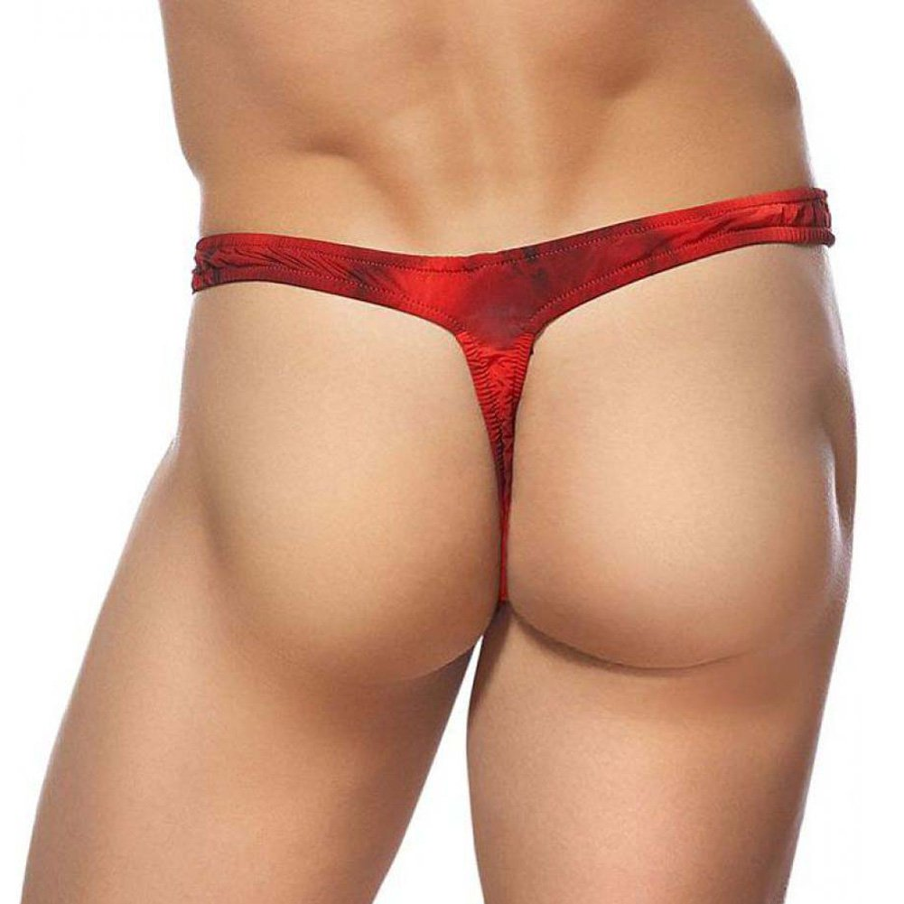 Male Power Skyview Bong Thong Small/Medium Red - View #2