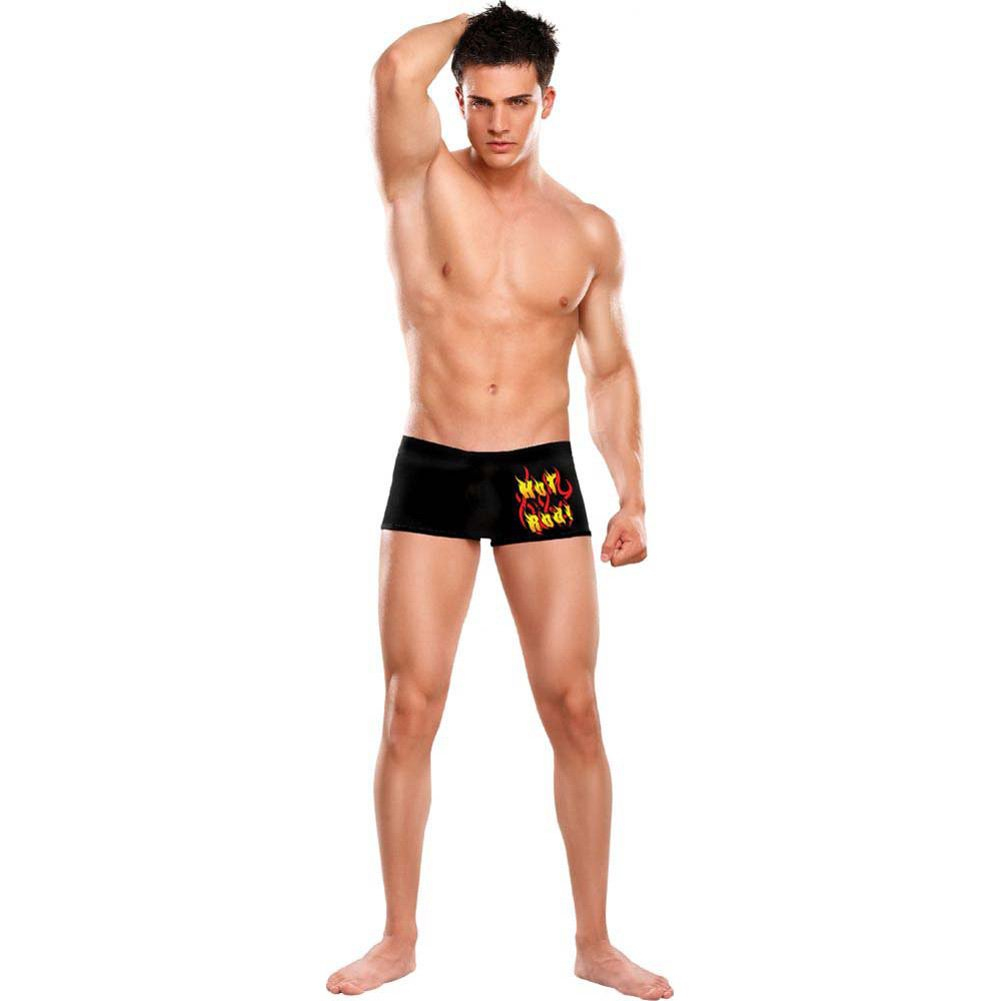 Male Power Oral Assault Hot Rod Classic Pouch Shorts Large/Extra Large Black - View #2