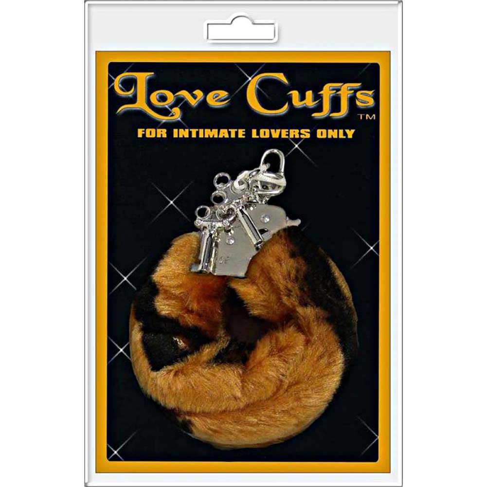 Golden Triangle Plush Love Cuffs Lion - View #1