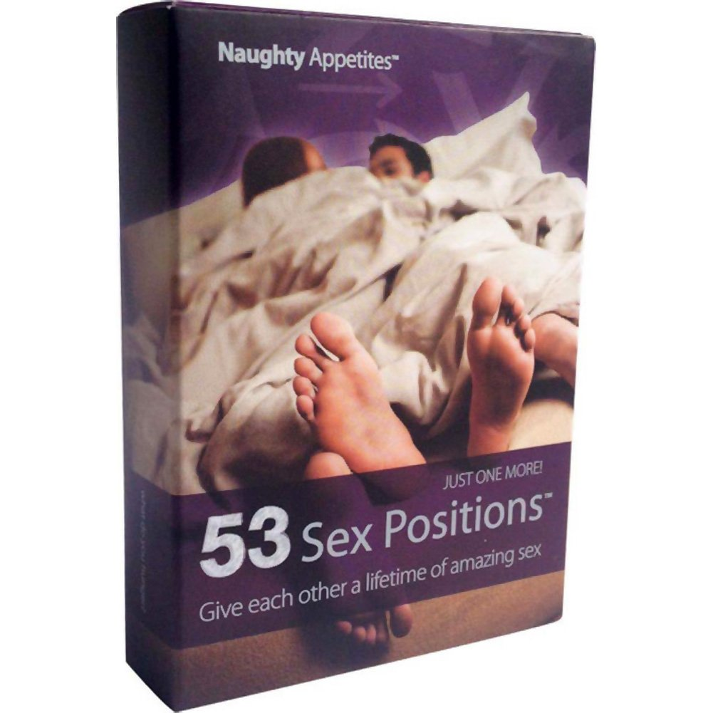 Naughty Appetites 53 Sex Positions Card Game - View #1