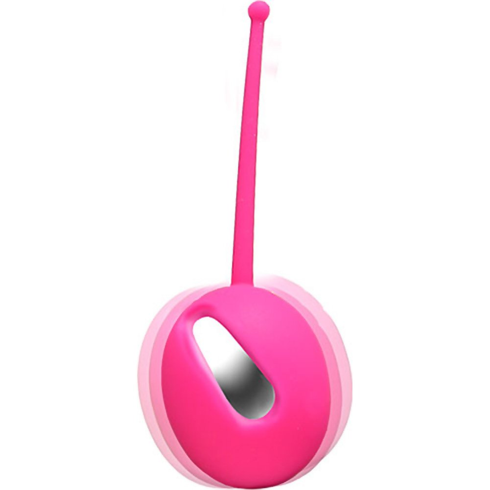 Vedo Plum Vibrating Kegel Ball Hot in Bed Pink - View #3