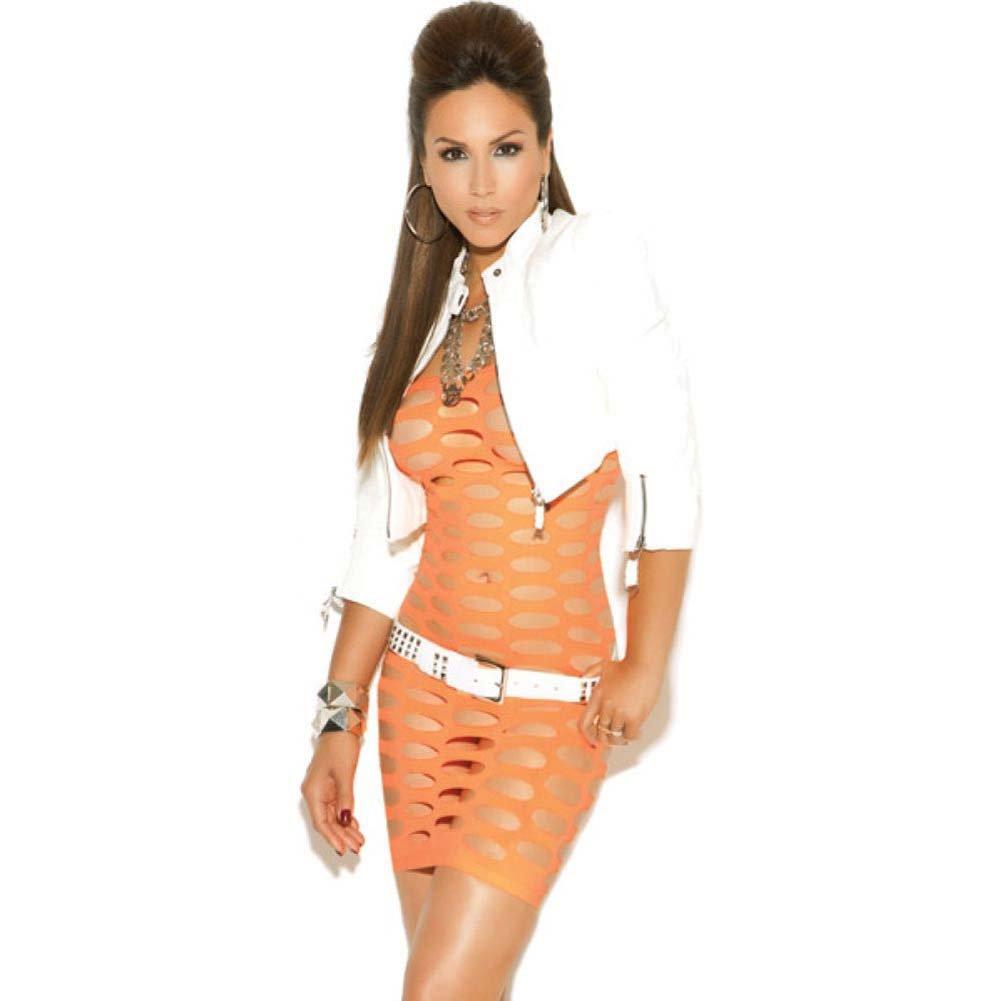 Vivace Mini Dress Neon Orange One Size - View #1