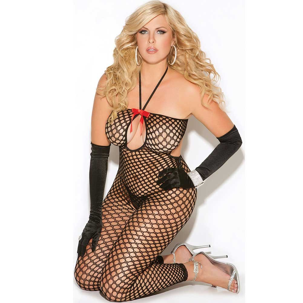 Vivace Crochet Bodystocking Black Queen - View #1