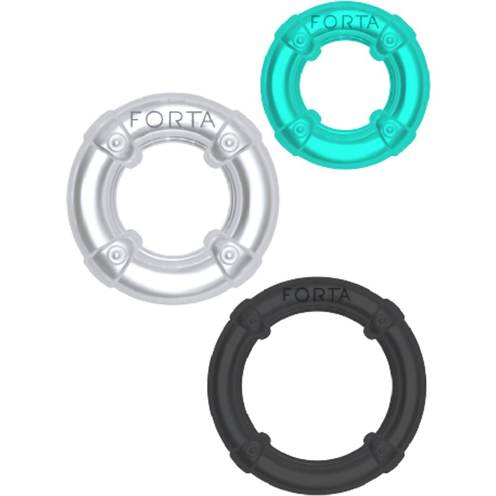 Vivo Wrangler Rings Assorted Colors Pack of 3 - View #2