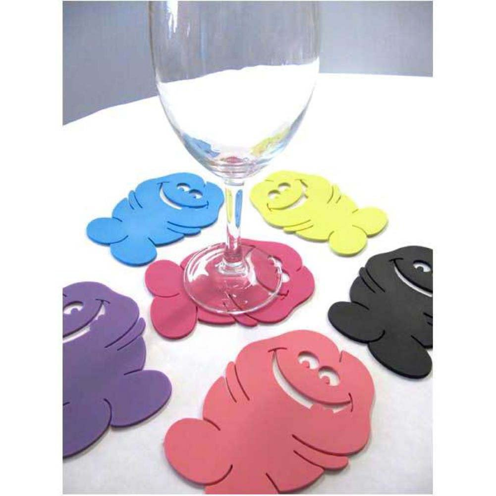 Ozze Bachelorette Pecker Coasters 6 Piece Pack - View #1
