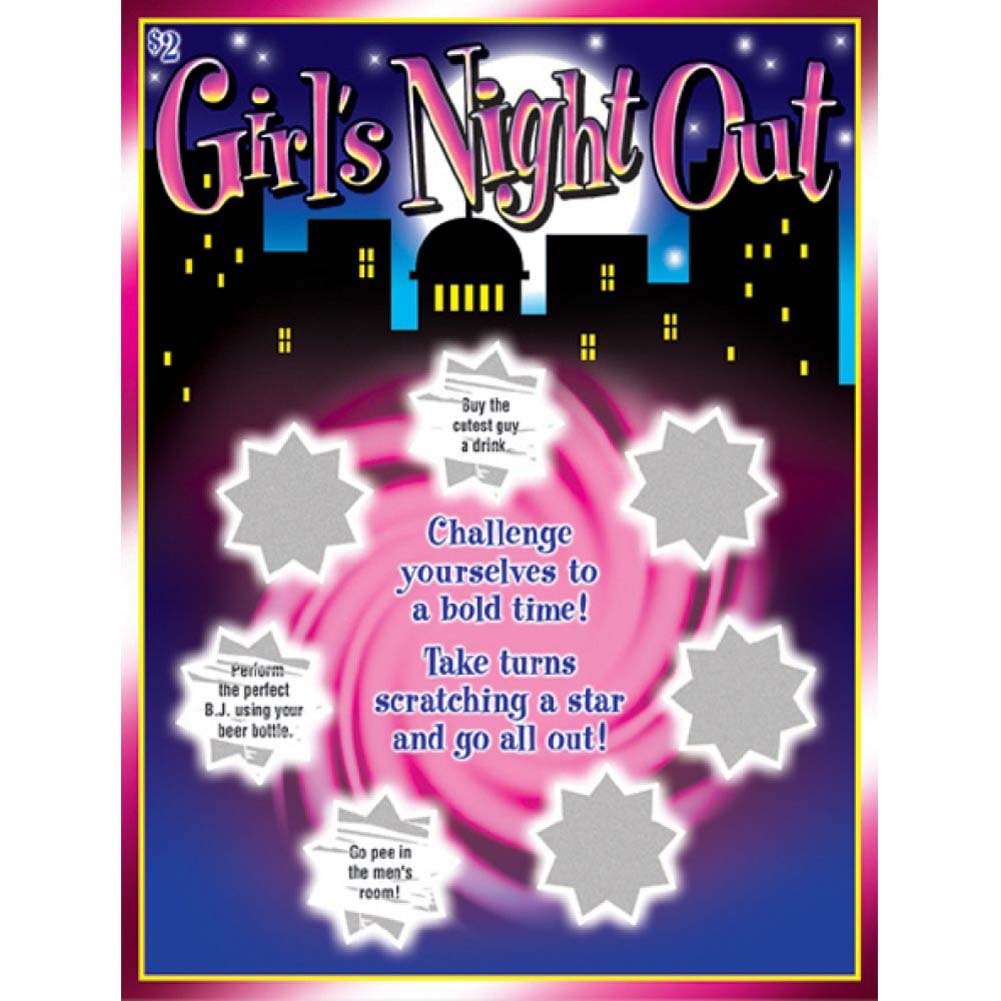 Girls Night Out Lotto Ticket - View #2