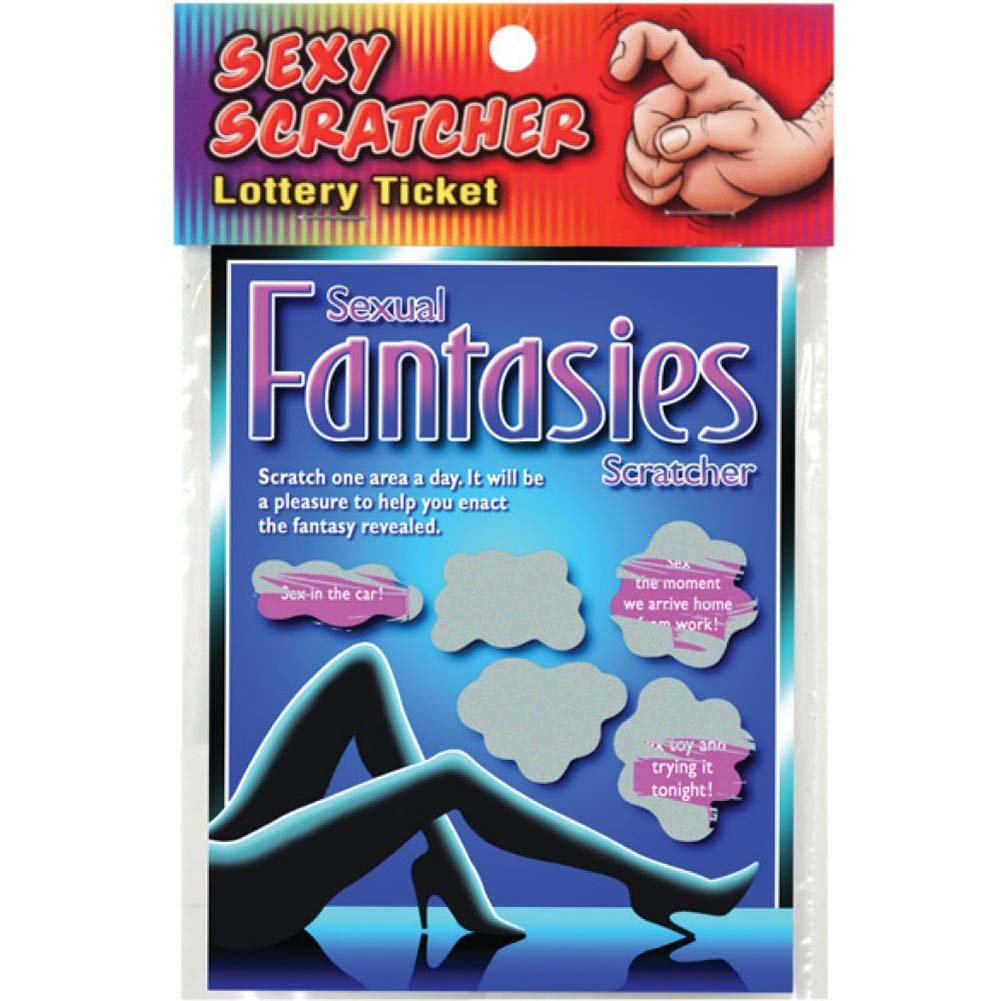 Sexual Fantasy Lotto Ticket - View #2