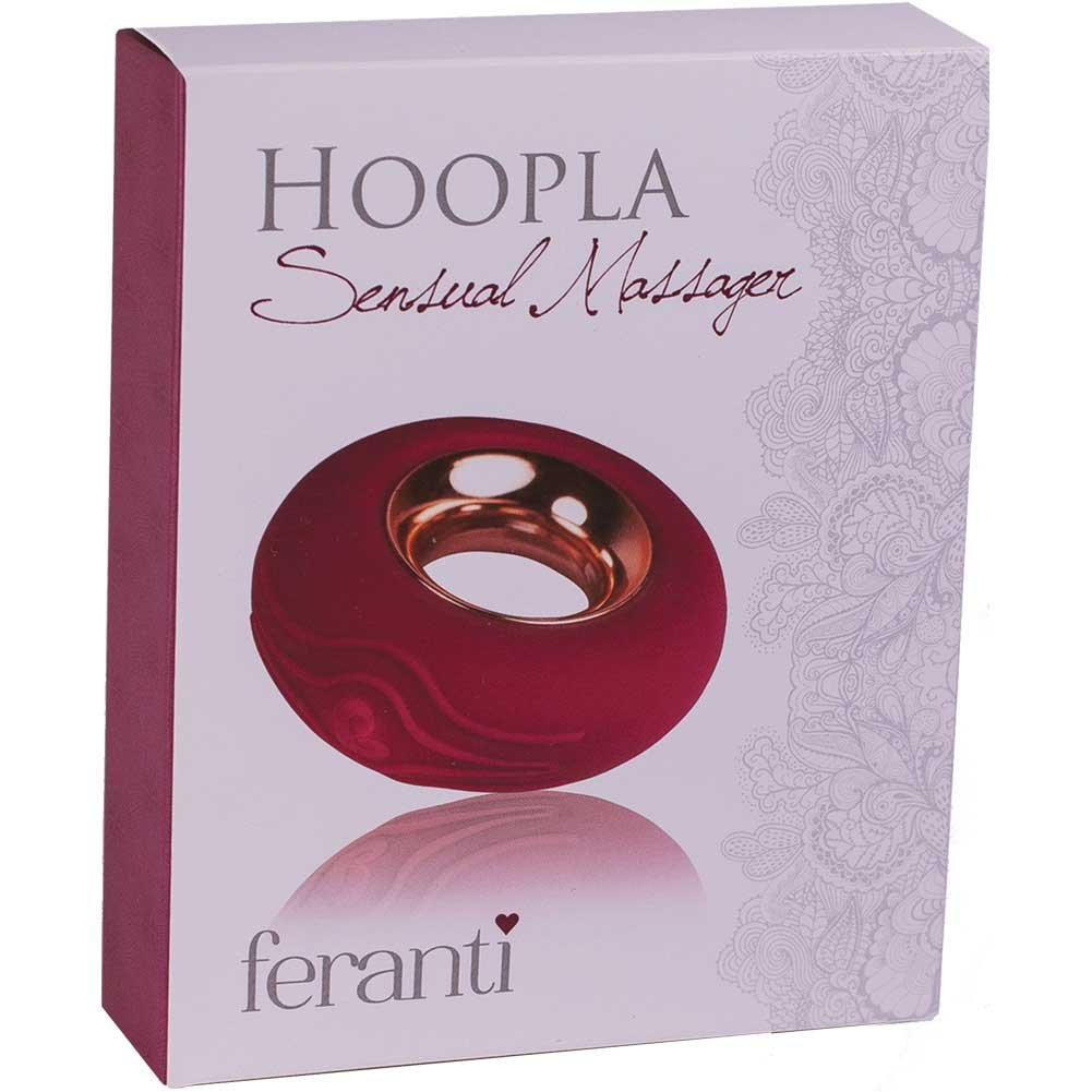 Rocks Off Waterproof Feranti Hoopla Vibrator Pink - View #1
