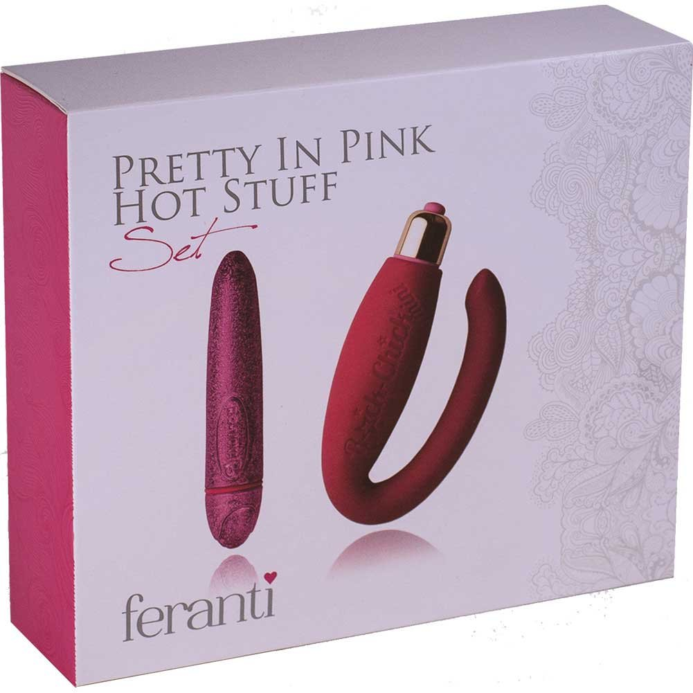 Rocks Off Feranti Pretty in PinkVibrator Collection Pink - View #1
