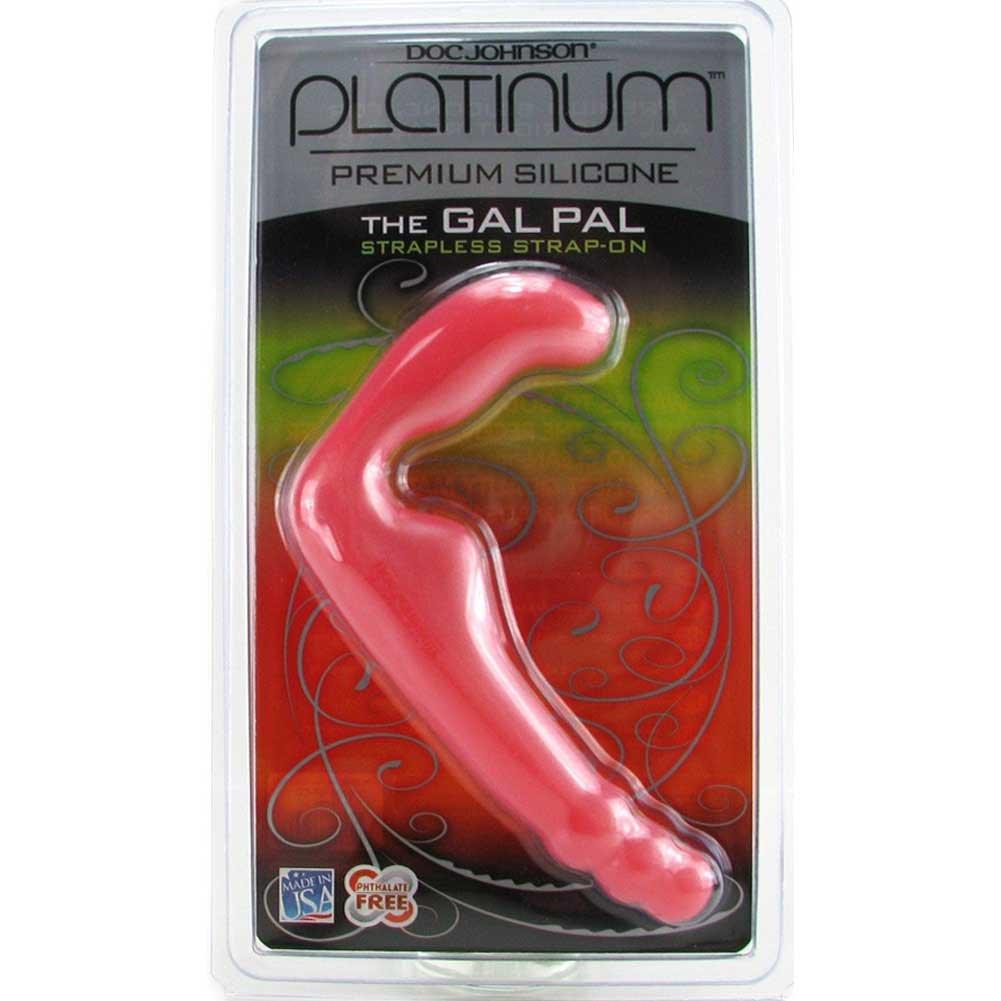 "Platinum Premium Silicone Gal Pal 7.5"" Soft Pink - View #1"