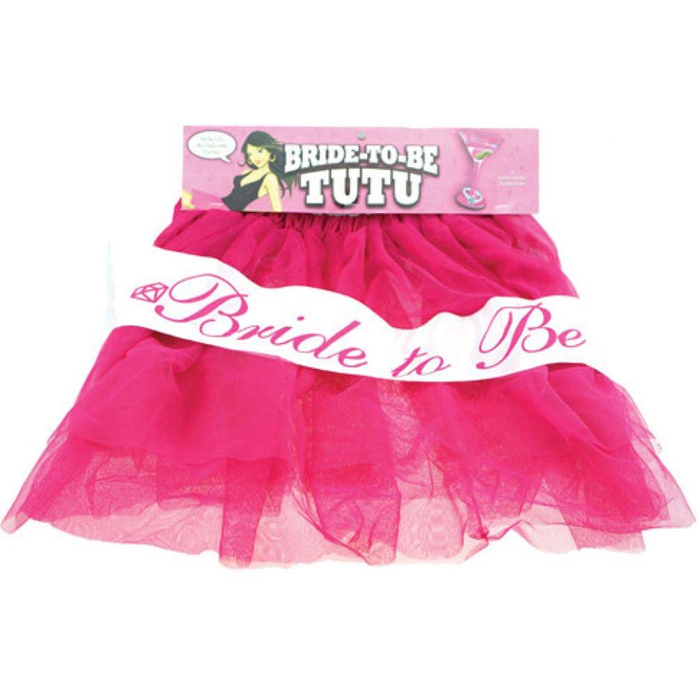 Bachelorette Bride to Be Tutu Pink - View #2