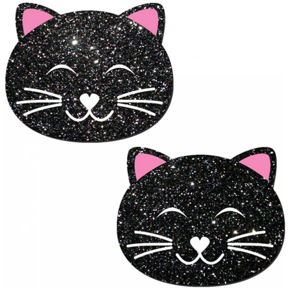 Pastease Black Glitter Black Cat One Size - View #2