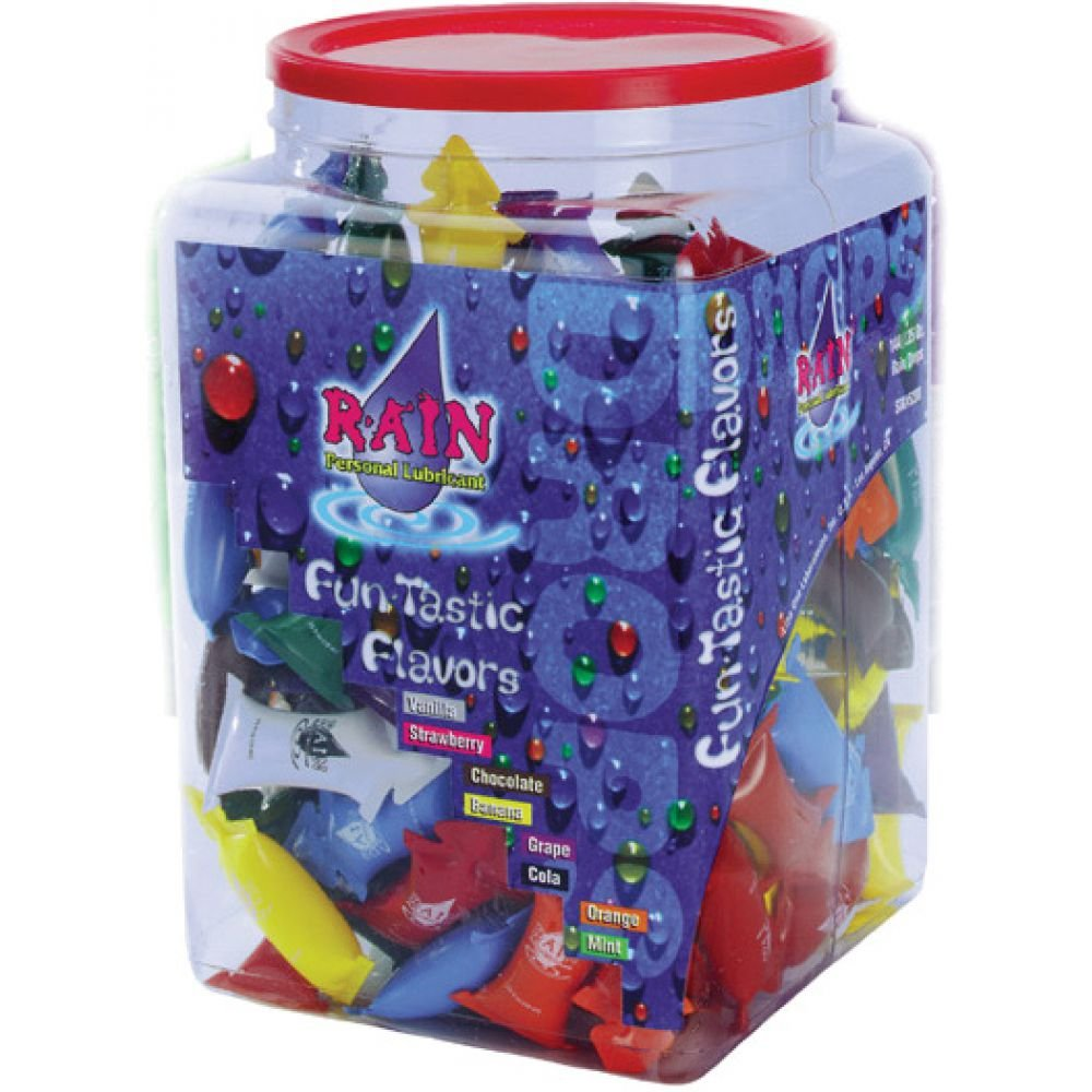 Rain Lube Assorted Flavors 144 Piece Bowl - View #1